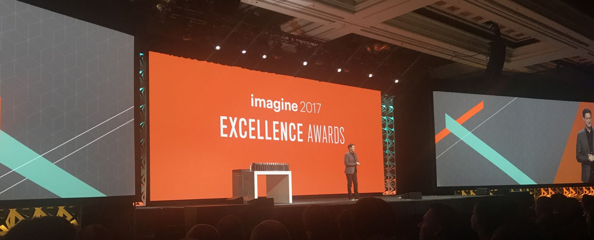 Finalistas do Imagine Excellence Awards 2018